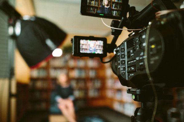 TV camera filiming